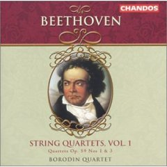 Beethoven - String Quartets Vol 1, Nos 1 and 3
